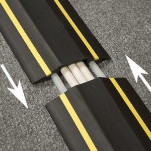 Najazdy kablowe i listwy podłogowe
